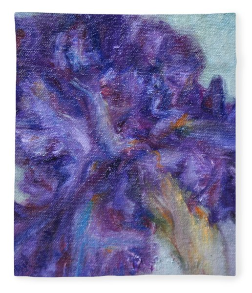 Ruffled Fleece Blanket