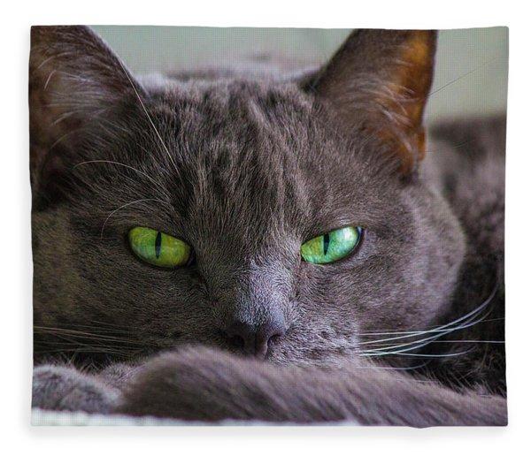 The Stare Fleece Blanket
