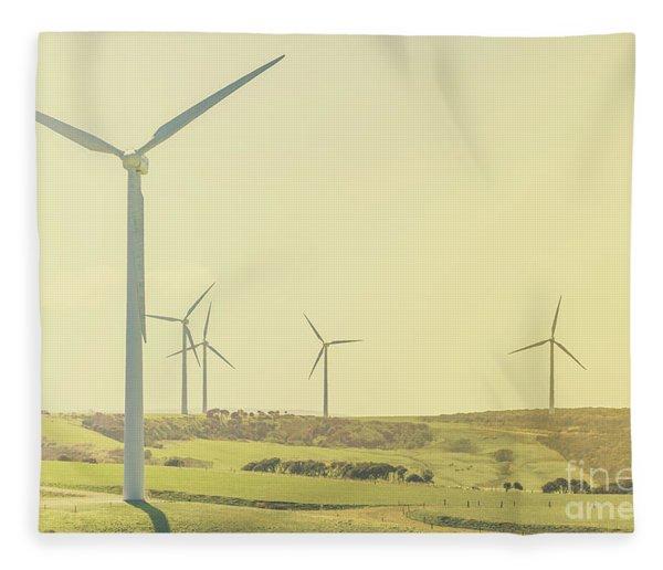 Rustic Renewables Fleece Blanket