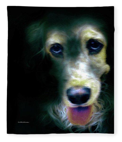 Saint Shaggy Art 14 Fleece Blanket