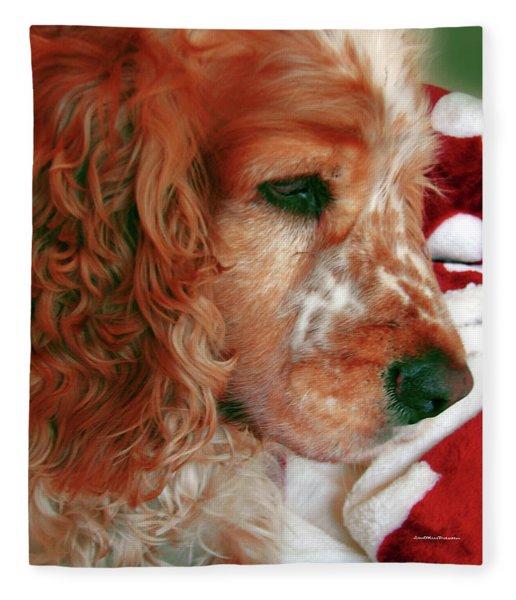 Saint Shaggy Art Photograph  14 Fleece Blanket