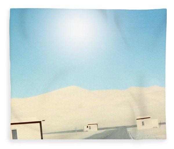 Sand Dune Surreal Fleece Blanket