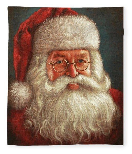 Santa 2017 Fleece Blanket