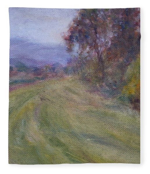 Sauvie Green Fleece Blanket