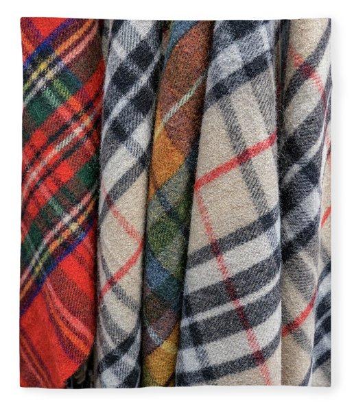 Scottish Plaids Fleece Blanket