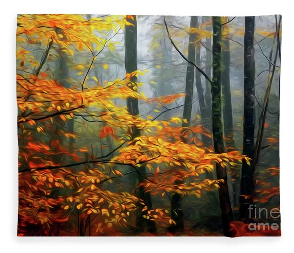 Season's Colors Fleece Blanket