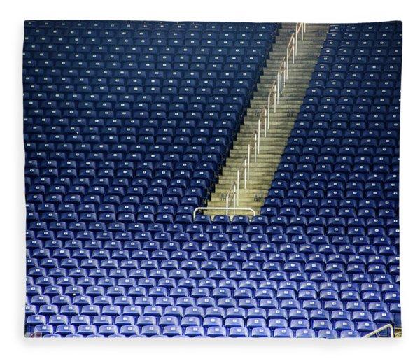 Seats At Ford Field Fleece Blanket
