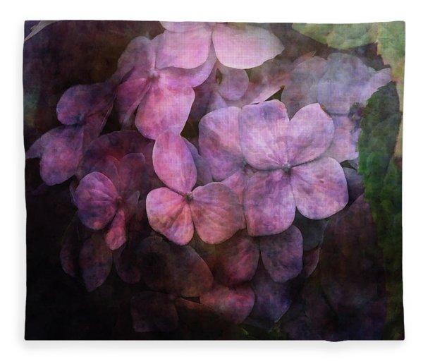 Secret Hydrangea 1538 Idp_2 Fleece Blanket