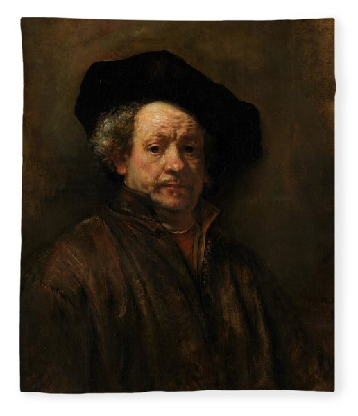 Painting - Self-portrait By Rembrandt by Travel Pics