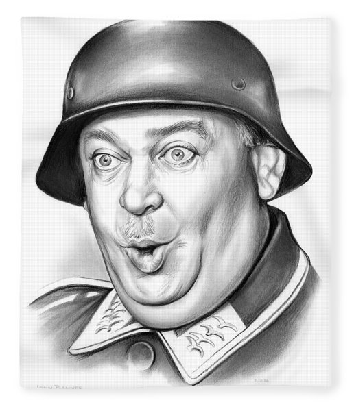 Sgt Schultz Fleece Blanket