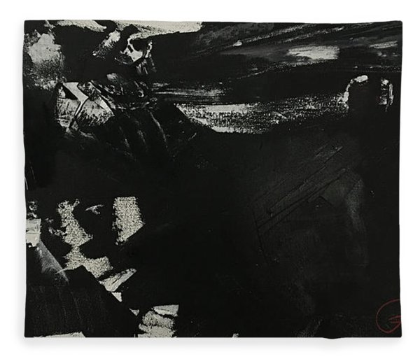 Shadow On The Land Fleece Blanket