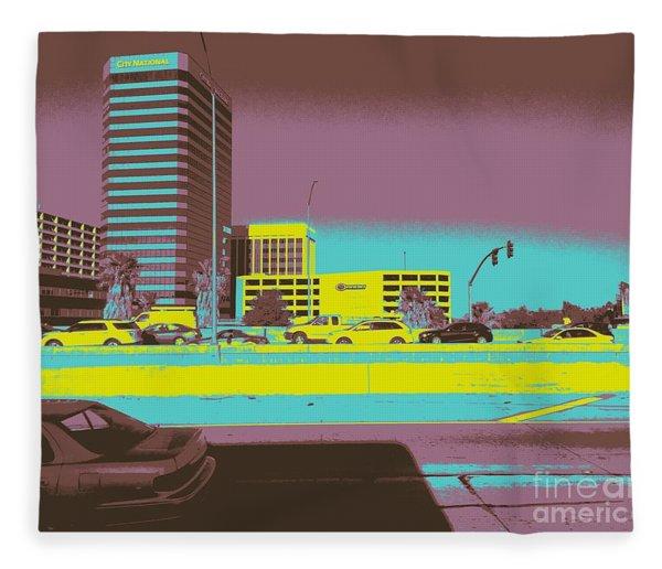 Sherman Oaks Fleece Blanket