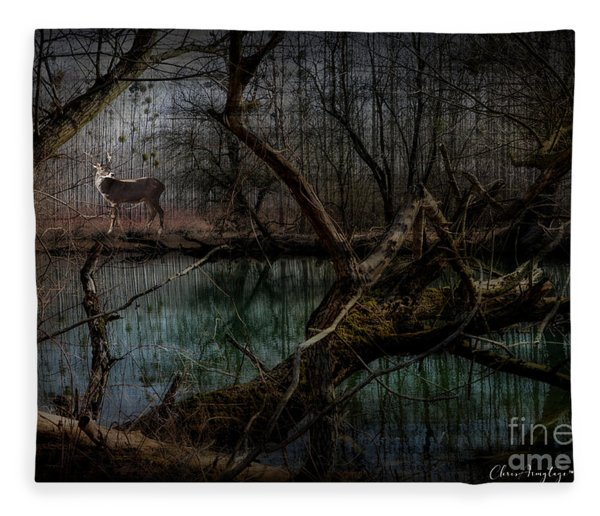 Silent Forest Fleece Blanket