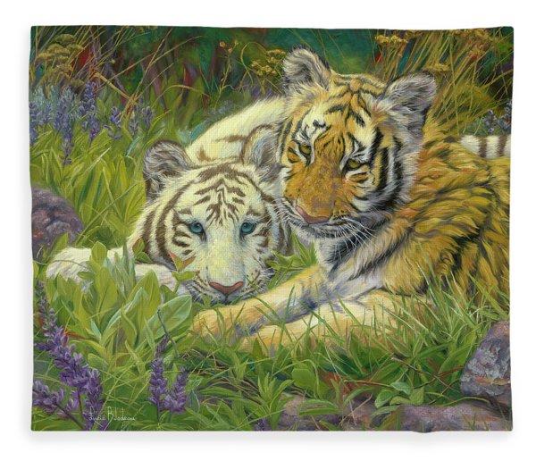 Sisters Fleece Blanket