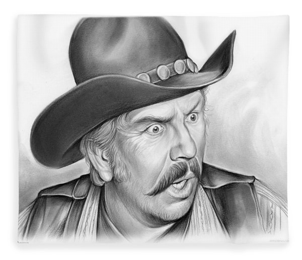 Slim Pickens Fleece Blanket