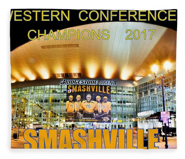 Smashville Western Conference Champions 2017 Fleece Blanket