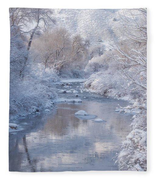 Snow Creek Fleece Blanket