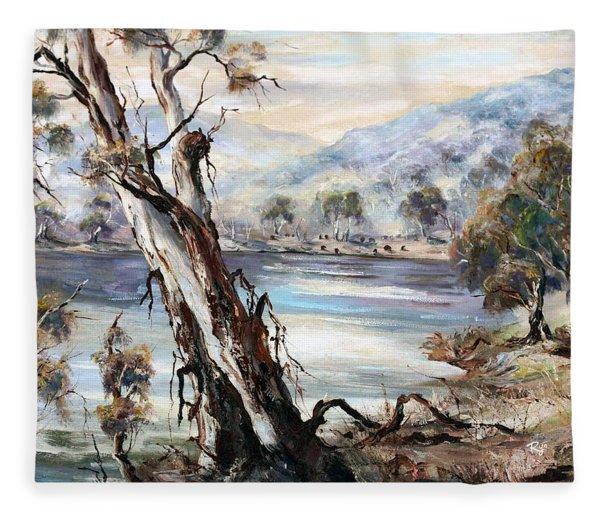 Snowy River Fleece Blanket
