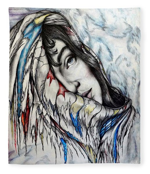 Softly Wrapped Fleece Blanket