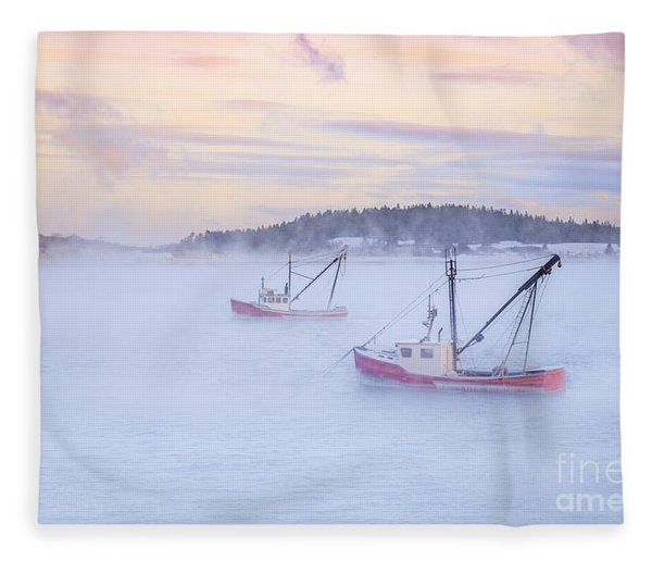 Soon As The Morning Comes Fleece Blanket