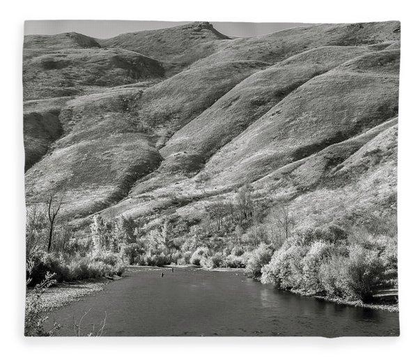South Fork Boise River 2 Fleece Blanket