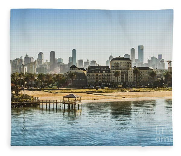 South Melbourne Fleece Blanket