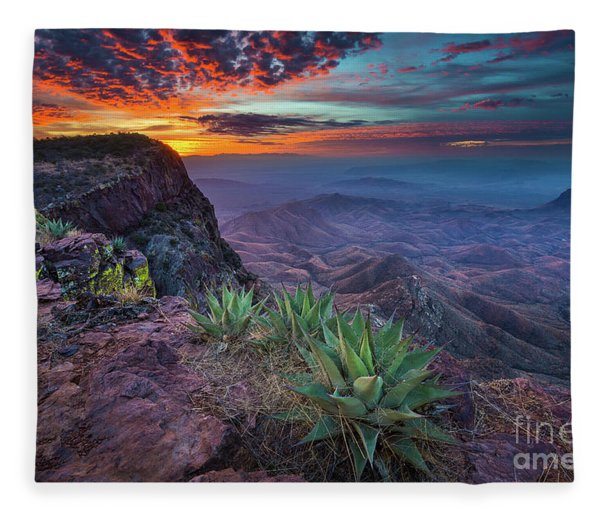 South Rim Sunrise Fleece Blanket
