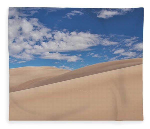 Southwest Sands Of Colorado Fleece Blanket