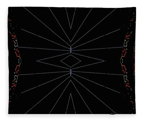 Spider Webs Fleece Blanket