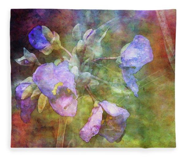 Spiderwort 1398 Idp_2 Fleece Blanket