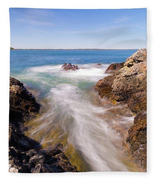 Spirit Of The Atlantic Fleece Blanket