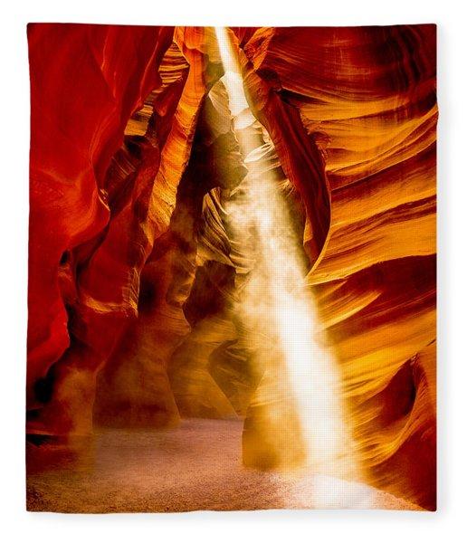 Spirit Light Fleece Blanket
