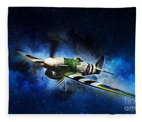 Hawker Typhoon Fleece Blanket