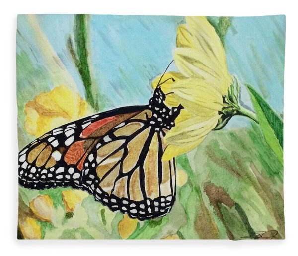 Spring Colors Fleece Blanket