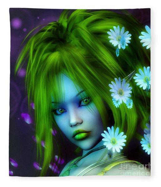 Spring Elf Fleece Blanket