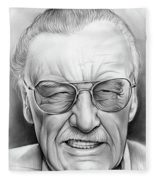 Stan Lee Fleece Blanket