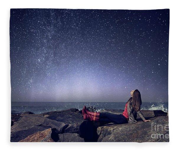 Stargazer Fleece Blanket