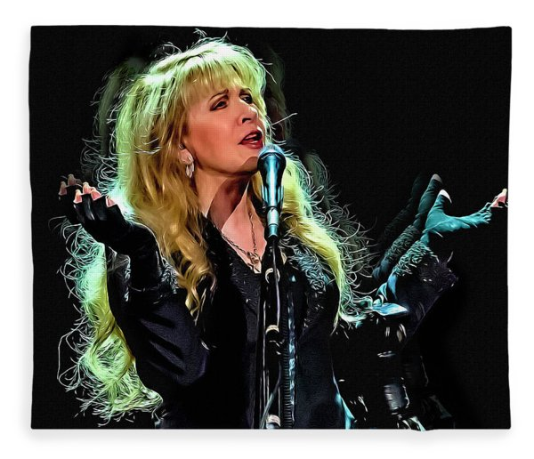 Stevie Nicks, Fleetwood Mac Fleece Blanket