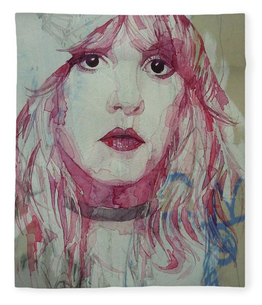 Stevie Nicks - Gypsy  Fleece Blanket