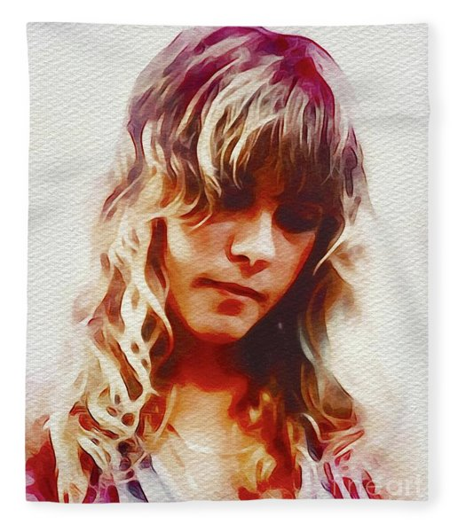 Stevie Nicks, Music Legend Fleece Blanket