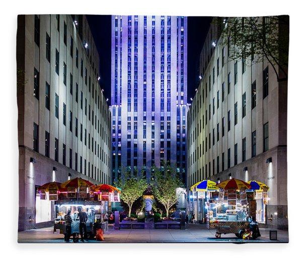 Rockefeller Center Fleece Blanket