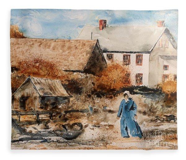 Strolling Fleece Blanket