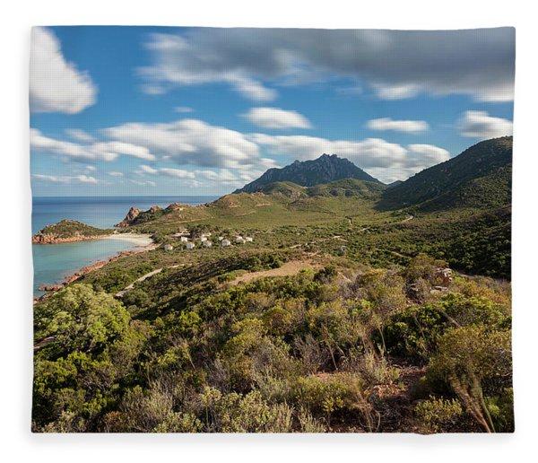 Su Sirboni Beach Fleece Blanket