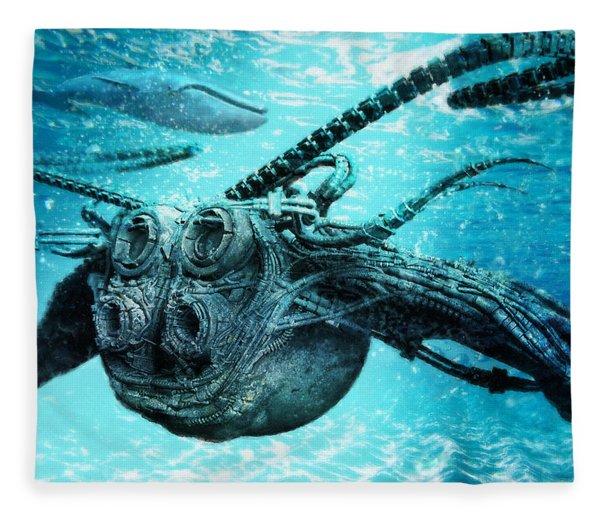 Submarine Fleece Blanket