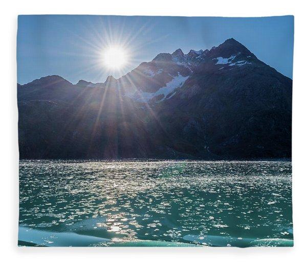 Sunshine And Ice Fleece Blanket