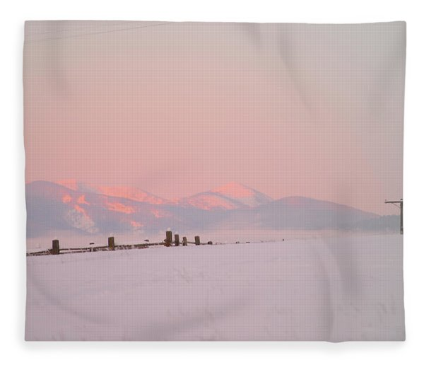 Sun Up On 12th Fleece Blanket