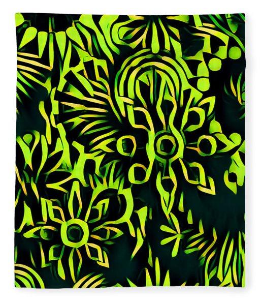 Sunflowers Fleece Blanket
