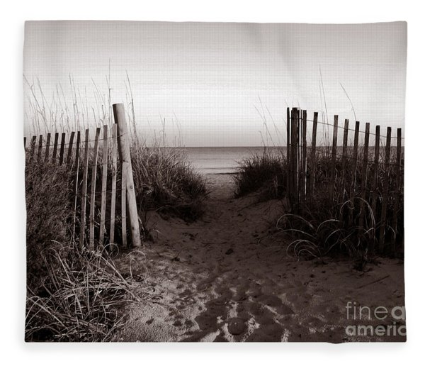 Sunrise At Myrtle Beach Sc Fleece Blanket