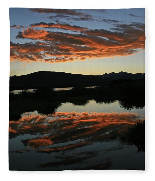 Surreal Sunrise Fleece Blanket