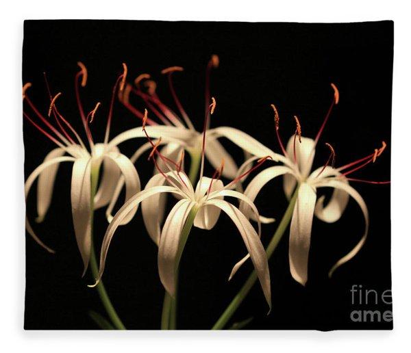 Swamp Lily Fleece Blanket